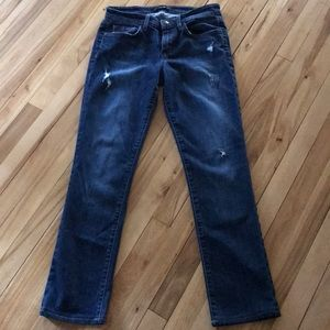 Joe's jeans Beth style easy fit distressed jeans